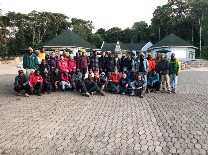 Trekking Kilimandzaro koniec
