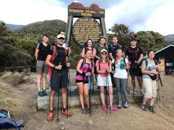 Trekking Kilimandzaro Machame Camp