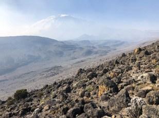 Trekking Kilimandzaro ostatnie widoki na szczyt