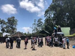 Trekking Kilimandzaro start