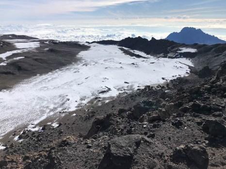 Trekking Kilimandzaro szczyt krater