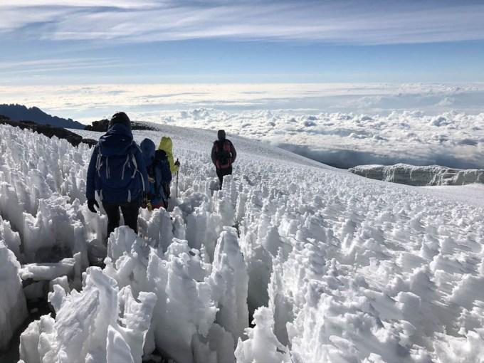 Trekking Kilimandzaro szczyt powrot