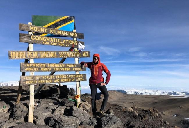 Trekking Kilimandzaro szczyt
