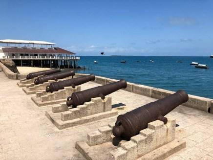 Zanzibar armaty