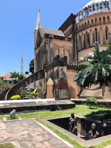 Zanzibar kosciol meczet i dawny targ niewolnikow