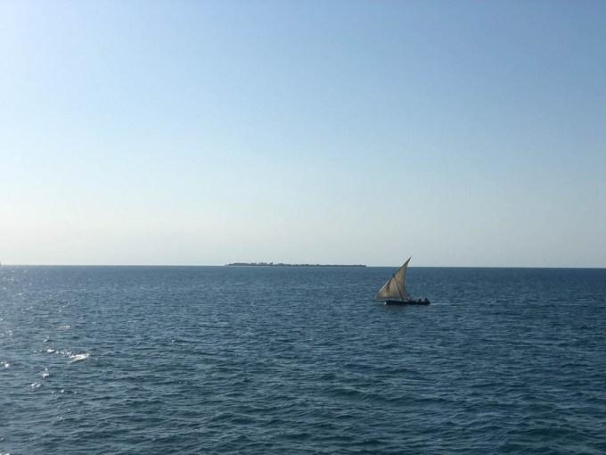 Zanzibar lodz tradycyjna dhow
