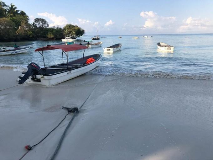 Zanzibar port rybacki
