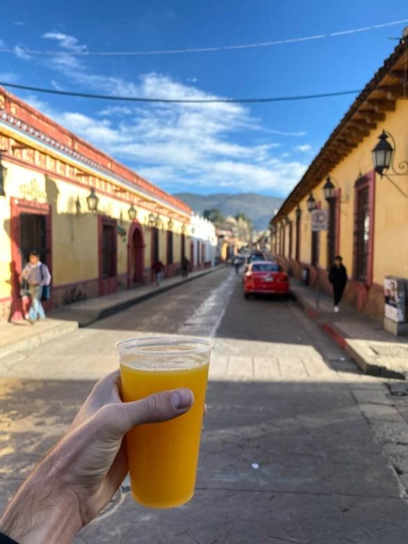 San Cristóbal de las Casas sok na śniadanie