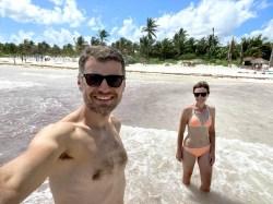Tulum na plaży