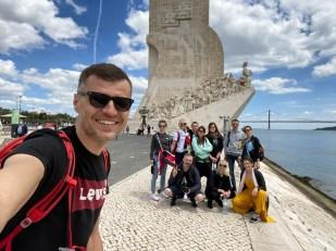 Potugalia Lizbona Belem Pomnik Odkryć Geograficznych