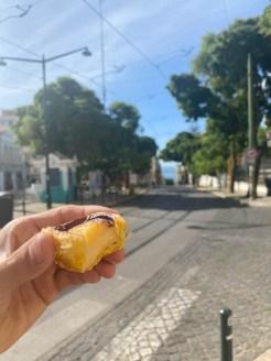 Potugalia Lizbona pasteis de nata