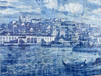 Potugalia Lizbona płytki azulejos