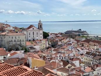 Potugalia Lizbona Portas do Sol
