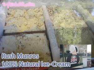 Rush Munros 100% Natural Ice-Cream