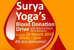 Surya Yoga's blood donation drive