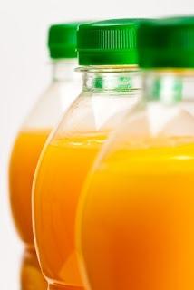 Bottled orange juice