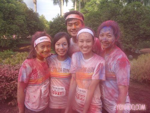 Jade, Melody, Tai Yang, Yisan and me