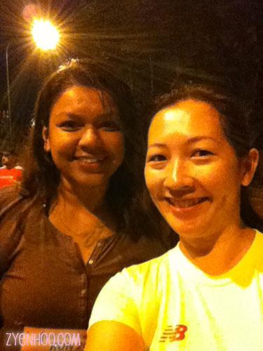 Me and Farah - before shot