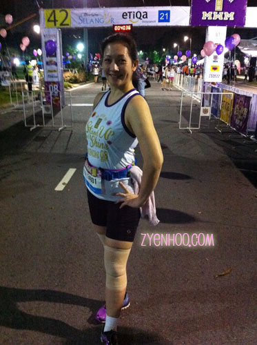 Posing at the Start Line