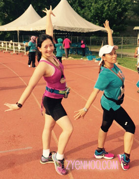 Proof that runners can be dancers too. Rawr!