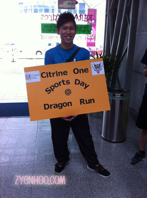 Assembly point for the Dragon Run preview attendees