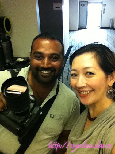 Me with Hari Jr, a super talented photographer. Follow his Instagram on @thestreetshutter!