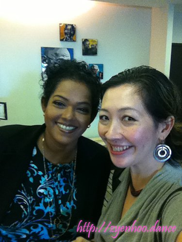 Me with Vithyaa Ramiah, the personable emcee of WBF and Chief Imagination Officer of Lotus Platinum
