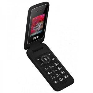 TELEFONO MOVIL SPC FLIP NEGRO 2306N