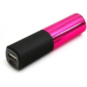 Power Bank 2600 mAh Color Rosa Lipstick Platinet