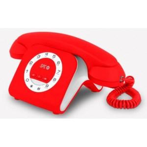 TELEFONO SPC 3609N ROJO 3609R