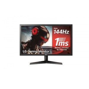MONITOR GAMING 23.6″ LG 24GL600F-B FHD HDMI-DP