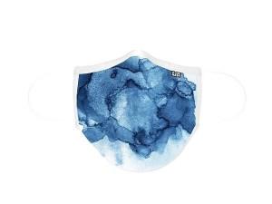 MASCARILLA DE TELA ADULTO D-COOL AQUARELA BLUE