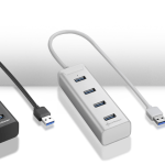 4-Port USB 3.0 Aluminium Hub