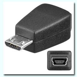 ADAPTADOR MINI USB (5PIN) H – MICRO B MACHO