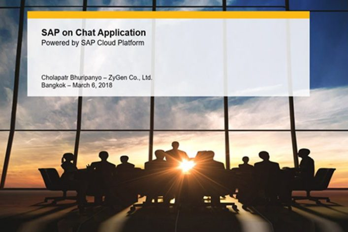 SAP on Chat Application
