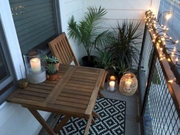 Perfect Small Balcony Design Ideas 12