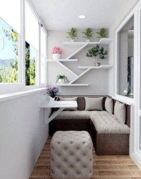 Perfect Small Balcony Design Ideas 45