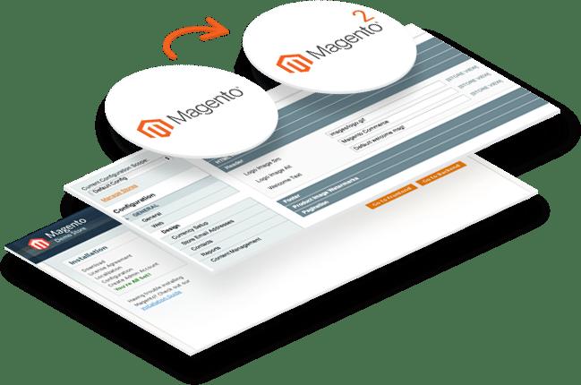 Magento webshop migratie van versie 1 naar versie 2