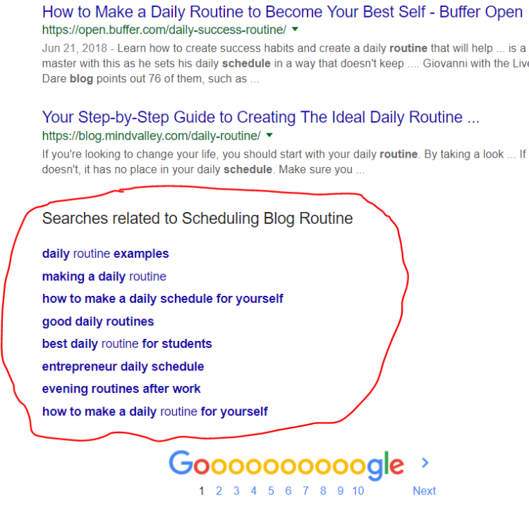 6 - Keyword and SEO research