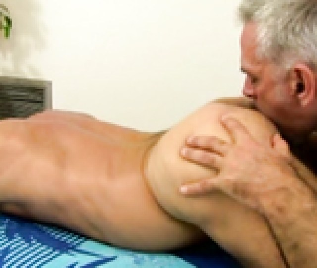 Brutal Men Are Having A Perfect Action In The Massage Saloon Masseur Bear Pulls Out