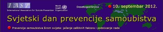 Svetski dan prevencije samoubistava 2012