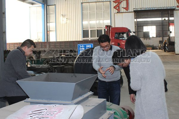Indonesia Client Visiting Our Factory Again