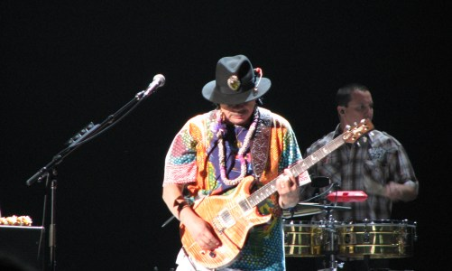 Carlos Santana at the Blaisdell
