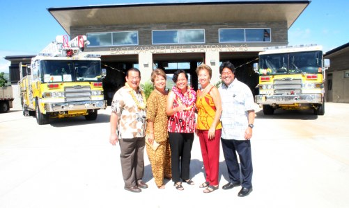 Kapolei Fire Station Dedication