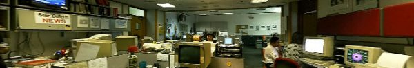 Star-Bulletin newsroom, ca. 1998.