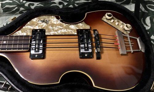 1967 Höfner 500/1 Beatle Bass
