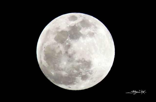 May 2021 Super Moon – Photo by Fergie