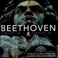 Beethoven: Symphonies 5 & 7 Pittsburgh Symphony Orchestra Manfred Honeck (Reference, 2015) 1h11m