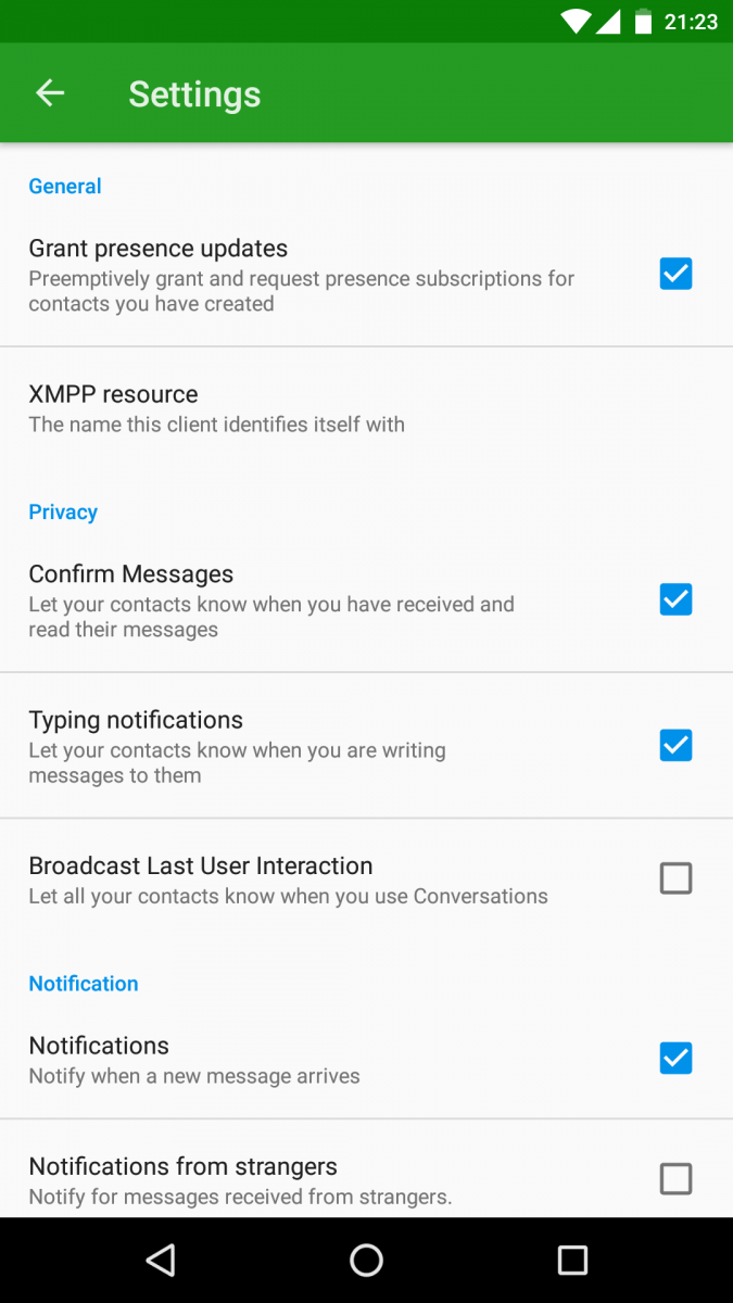 Conversations Is An Open Source Amp Secure Jabber Xmpp