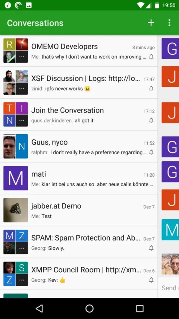 Conversations IM Jabber/XMPP Client